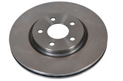 Brake disk. Of the car on a white background Stock Photo