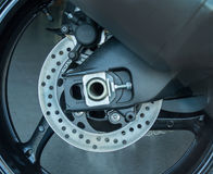 Brake disks motorcycle Royalty Free Stock Photography