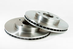 Brake disks Royalty Free Stock Photos