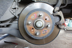 Brake drum Stock Image