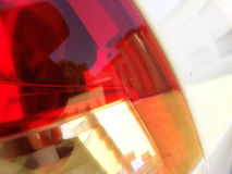 Brake Light. Closeup of a Brake Light Stock Images