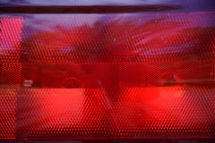 Brake light lens Royalty Free Stock Photos