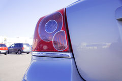 Brake lights Royalty Free Stock Photography