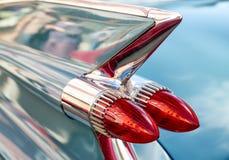 Brake lights on car Royalty Free Stock Photos