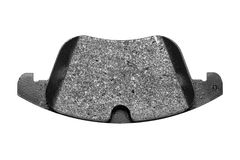 Brake pad. Car brake pads,isolated on white background Stock Photos