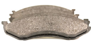 Brake pad. S isolated on white Royalty Free Stock Images