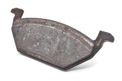 Brake pad. Car brake pad isolated on white Royalty Free Stock Image