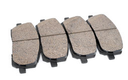 Brake pads, auto parts Stock Photos