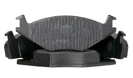 Brake pads for automobile wheels Royalty Free Stock Photography