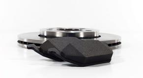 Brake pads and brake disc Royalty Free Stock Photos