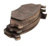 Brake pads on a car Stock Photography
