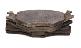 Brake pads on a car Royalty Free Stock Photography