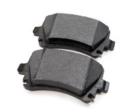 Brake pads isolated on white background. Brake pads isolated on a white background Stock Images
