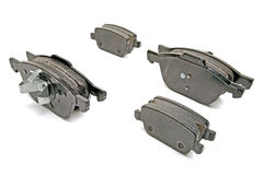 Brake pads set for one car Stock Photography