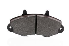 Brake pads on a white background Royalty Free Stock Photos