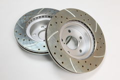 Free Brake Rotors Royalty Free Stock Image - 9631676