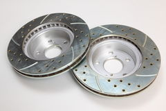 Brake Rotors Royalty Free Stock Photo