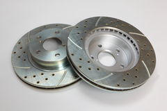 Brake Rotors Stock Image