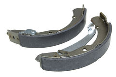 Brake shoe kit. Isolated over a white background Stock Photography