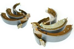 Brake shoes Royalty Free Stock Photos