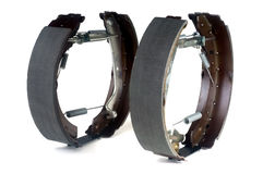 Brake shoes car Royalty Free Stock Photography