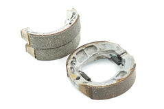 Brake shoes Stock Image