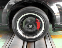 Brake testing system Royalty Free Stock Photos