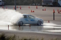 Brake training Stock Photo