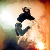 Brakedancer Royalty Free Stock Images