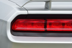 Brakelights on classic car Stock Photography