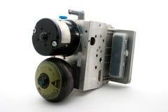 Brakes pump. Brakes sbc car pump for mercedes W211 (e-class) vehicles Stock Photos