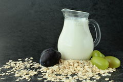 Brakfast and oats Stock Images