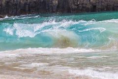 Braking wave Royalty Free Stock Photos