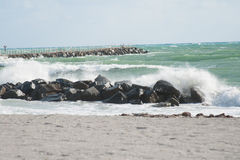 Braking waves Royalty Free Stock Photography