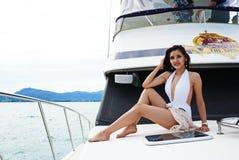 Brakuje Ponadnarodowego Tajlandia 2017, Campingową wycieczkę i krótkopędu bikini, Fotografia Stock