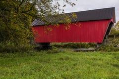 Braley-überdachte Brücke - Randolph, Vermont Stockfotos