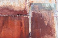 Bram stare fabryki/tło Zdjęcie Stock