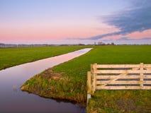Brama łąka Fotografia Stock
