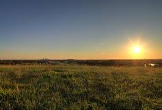 Brama łuk Louis i St, Missouri linia horyzontu fotografia stock