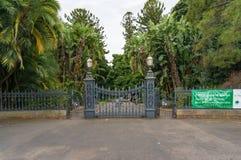 Brama Adelaide ogród botaniczny z aleją zdjęcie royalty free