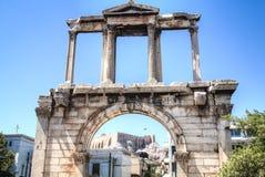 Brama Ateny, Grecja Obraz Royalty Free