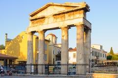 Brama Athena Archegetis, Ateny - Obrazy Royalty Free
