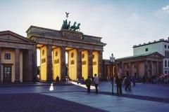 brama brandenburgii Zdjęcie Royalty Free