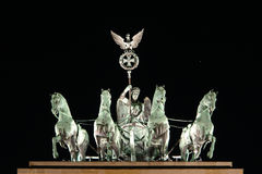 brama brandenburgii Obraz Royalty Free