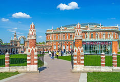 Brama Chlebowy dom Tsaritsyno Zdjęcie Royalty Free