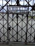 Brama Dachau Obraz Royalty Free