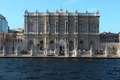 Dolmabahce pałac brama obrazy stock