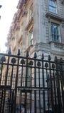 Brama Downing Street w Londyn, Anglia Fotografia Royalty Free