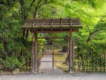 brama drewniana Zdjęcia Royalty Free