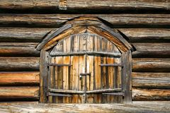 brama drewniana Zdjęcie Stock